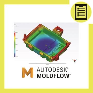 Picture of نرم افزار شبیه سازی فرایند تزریق پلاستیک Moldflow