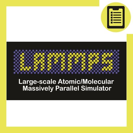 Picture of شبیه سازی دینامیک مولکولی با LAMMPS (مواد)