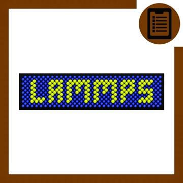 Picture of شبیه سازی دینامیک مولکولی با استفاده از LAMMPS (شیمی)