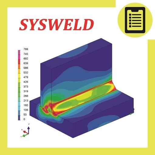 تصویر از شبیه سازی فرآیند جوشکاری با نرمافزار SYSWELD