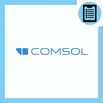 تصویر از شبیه سازی به کمک COMSOL  (مکانیک)