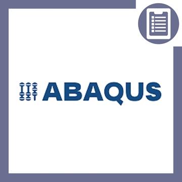 تصویر از سابروتین نویسی در ABAQUS (هوافضا)