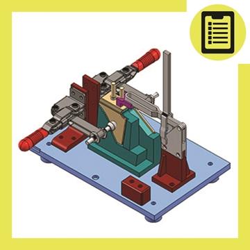Picture of طراحی گیج و فیکسچرهای کنترلی (مواد)