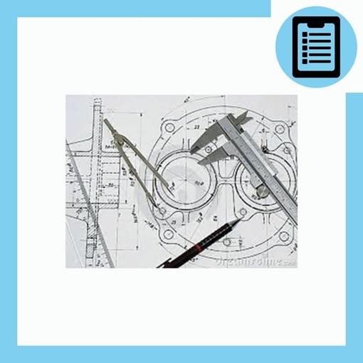 Picture of نقشه خوانی صنعتی (مکانیک)