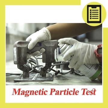 تصویر از بازرسی جوش به روش ذرات مغناطیسی (MT)